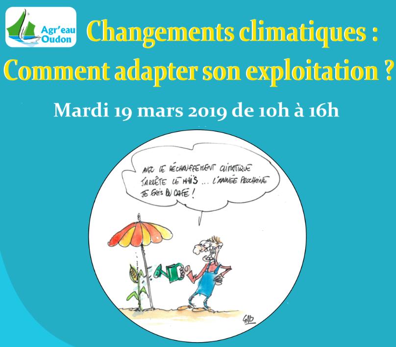 Journée Changement climatique 19 mars 2019