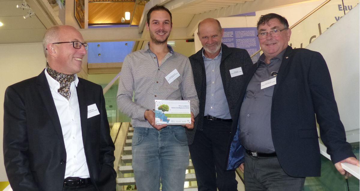 Représentants du Bassin de l'Oudon à la remise des prix du 5 novembre 2018