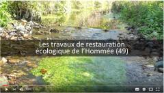 """Vidéo """"Les travaux de restauration de l'Hommée"""" - 4min46 - Bassin de l'Oudon"""
