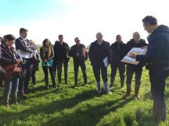 Présentation des travaux sur Vezeuvre aux membres de la Région - mars 2017