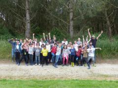 La photo de groupe - crédit photos Bassin de l'Oudon