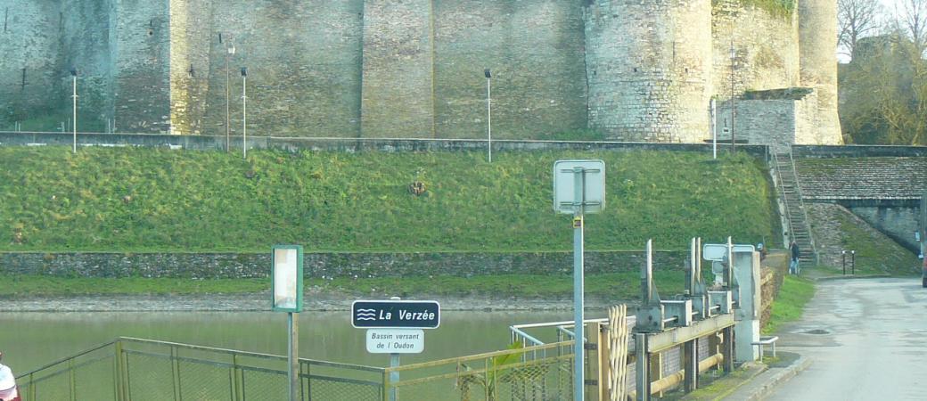 Vannage du barrage de le Fuye - Etang de Saint Aubin - 2016 - Bassin de l'Oudon
